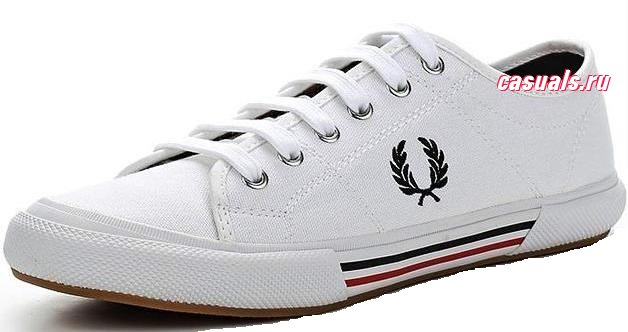 "Кеды Fred Perry ""Vintage Tennis Canvas"""
