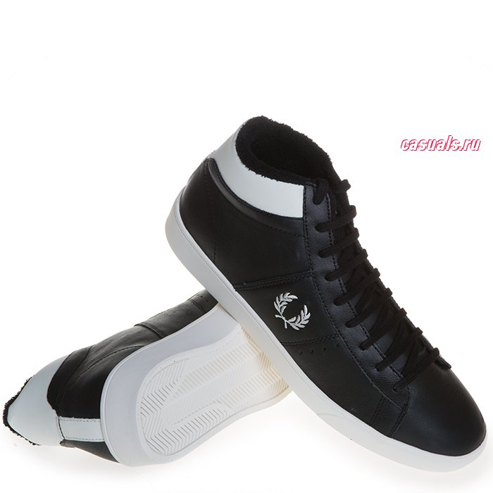 Кроссовки Fred Perry Spencer Mid Leather""
