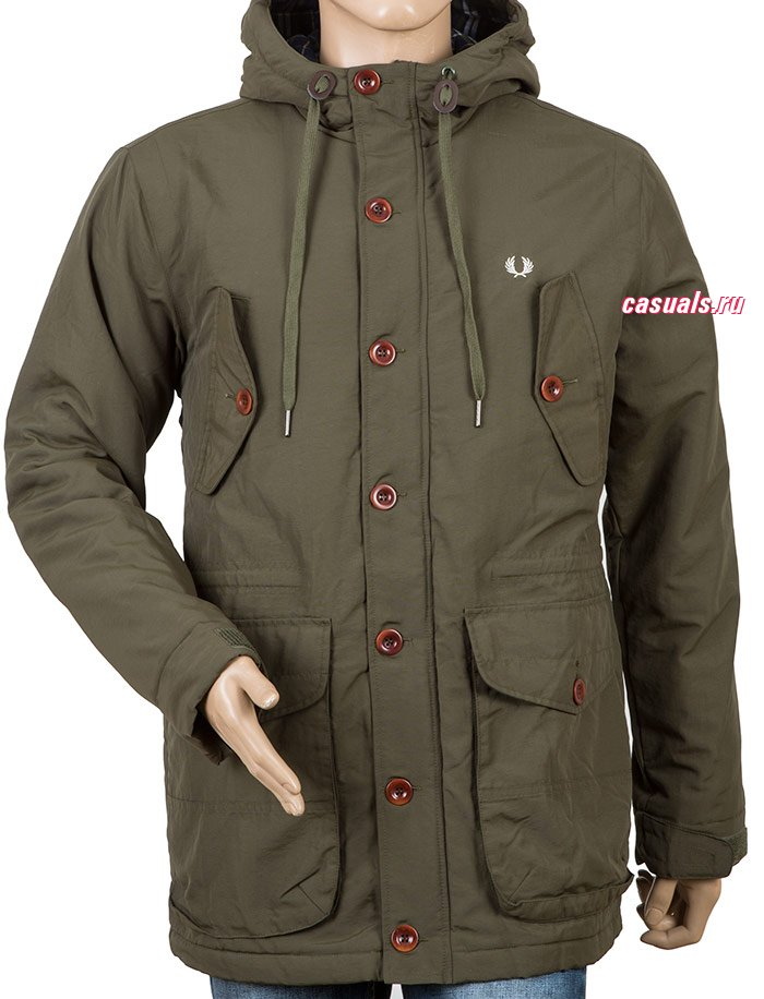 "Парка Fred Perry ""Wadded Mountain Parka"""