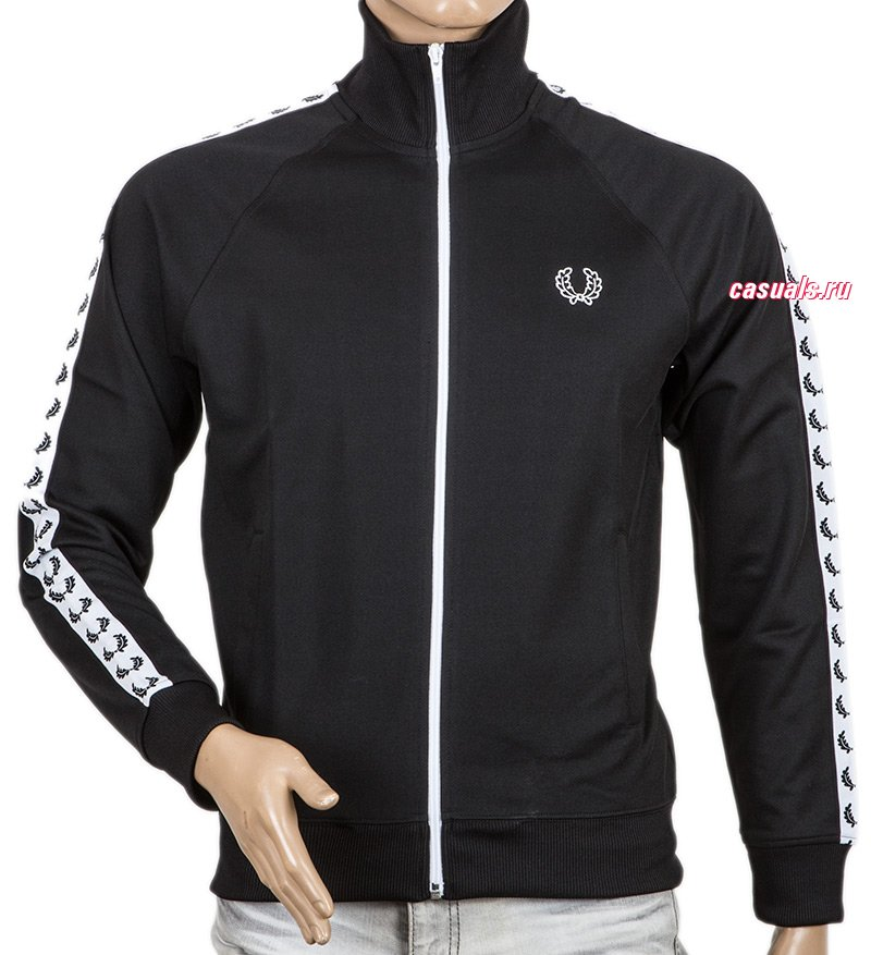 "Олимпийка Fred Perry ""Laurel Taped Track Jacket"""