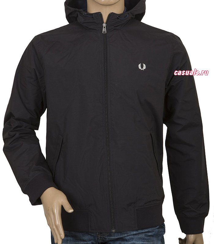 "Куртка Fred Perry ""Summer Hooded Brentham Jacket"""