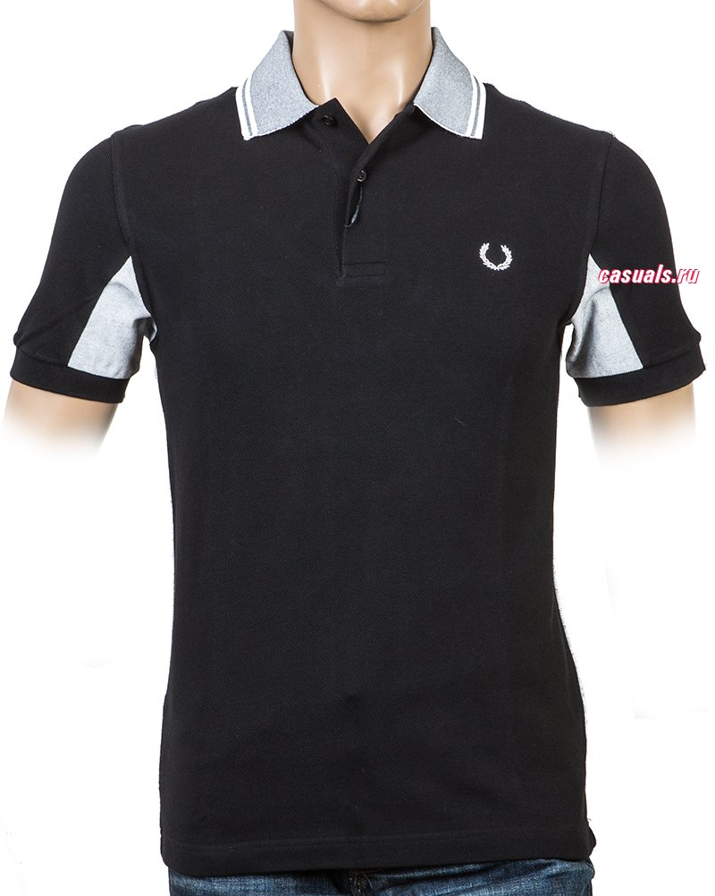 "Поло Fred Perry ""Painted Collar Tipped Shirt"""