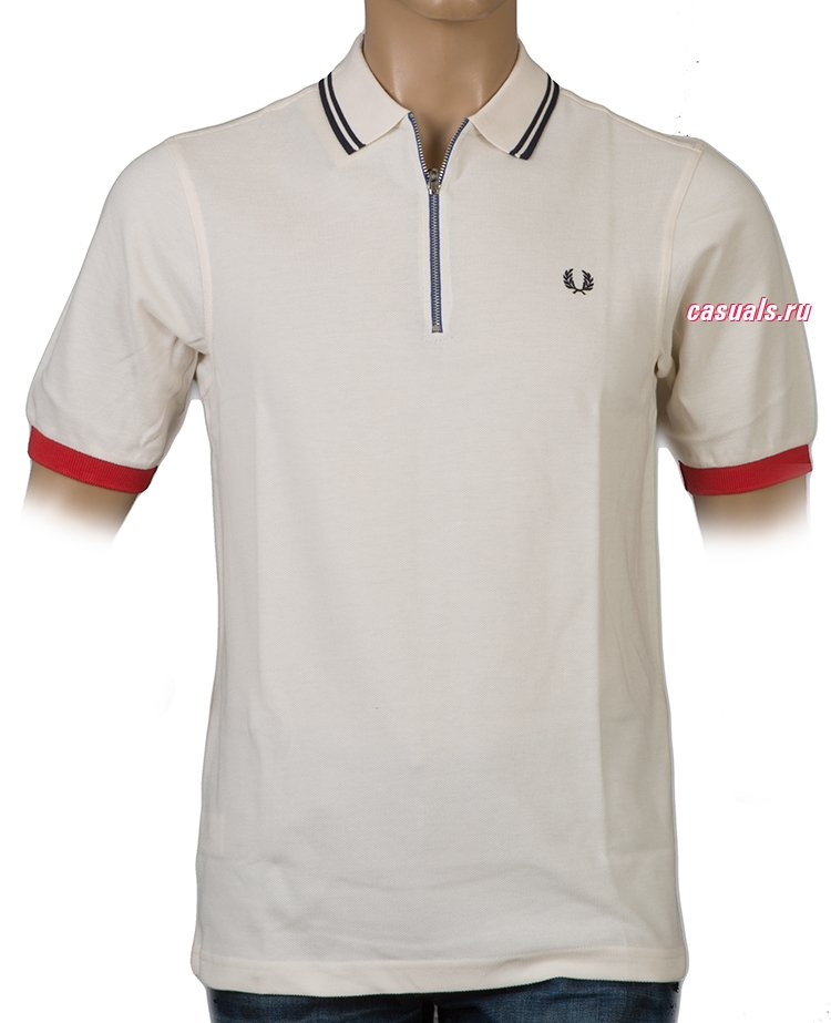 "Поло Fred Perry ""Twin Tipped Cycling Shirt"""