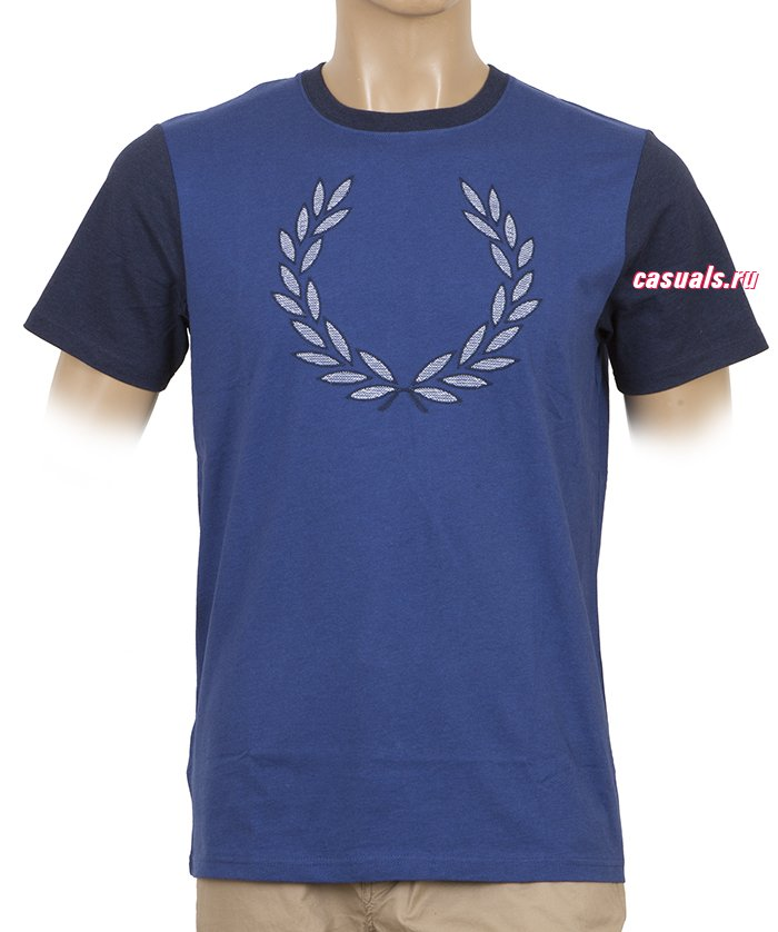 "Футболка Fred Perry ""Two Tone Laurel Wreath T-Shirt"""
